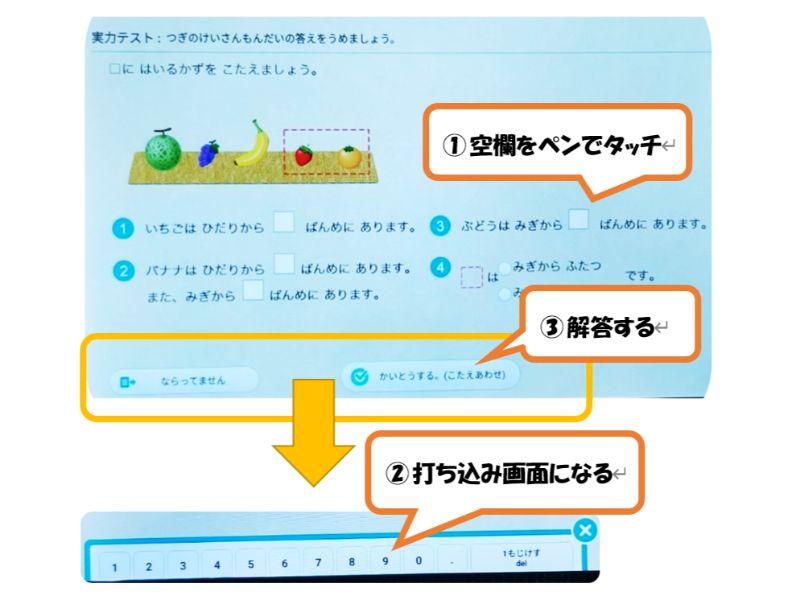 RISU算数の実力テストの写真