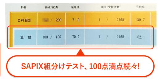 RISU算数でサピックス1位になった画像3